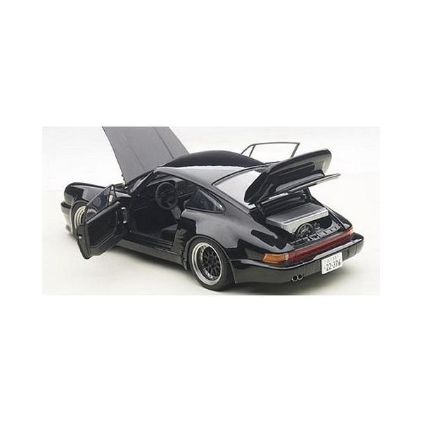 ポルシェ 911 (930) ターボ 「湾岸ミッドナイト」 ブラックバード (1/18 オートアート78156)|v-toys|04
