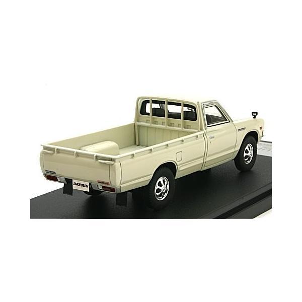 ニッサン ダットサン トラック ロングボディー DX 1979 ホワイト (1/43 ハイストーリーHS165WH)|v-toys|02