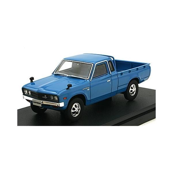 ニッサン ダットサン トラック カスタム DX・L 1979 ブルー (1/43 ハイストーリーHS166BL)|v-toys