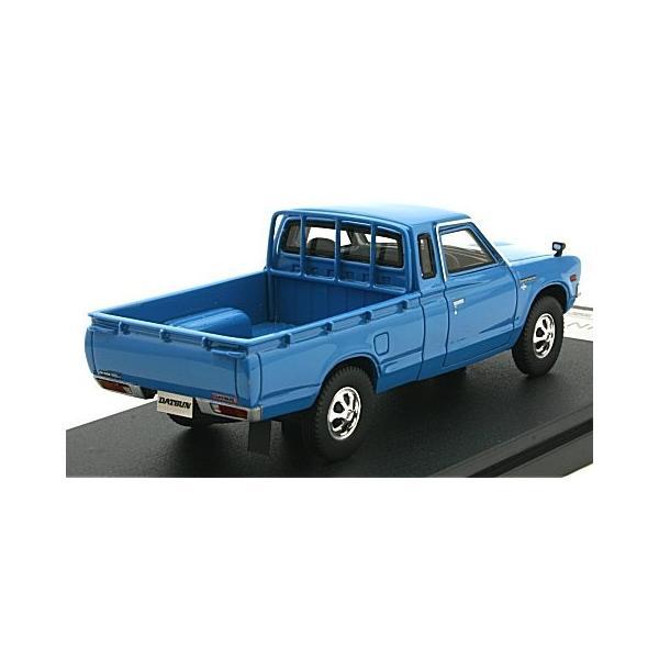 ニッサン ダットサン トラック カスタム DX・L 1979 ブルー (1/43 ハイストーリーHS166BL)|v-toys|02
