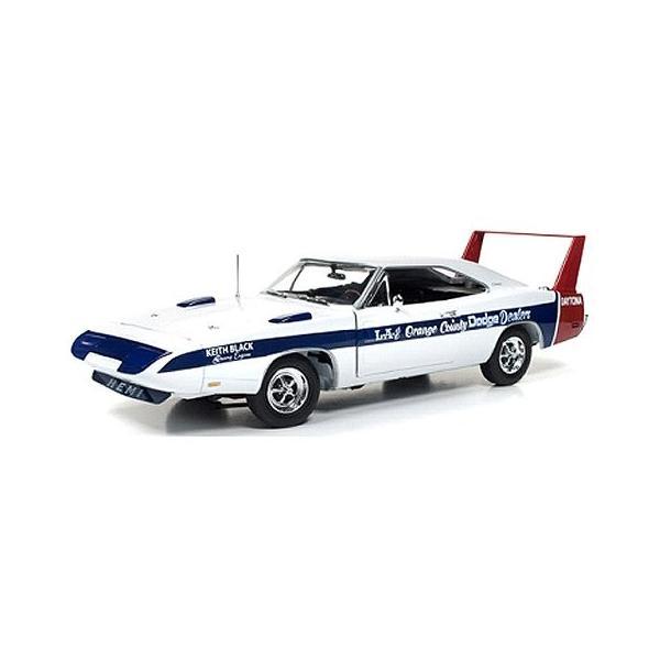 1969 ダッジ デイトナ LA & Orange County Dodge Dealers (1/18 アメリカンマッスルAMM1091)|v-toys