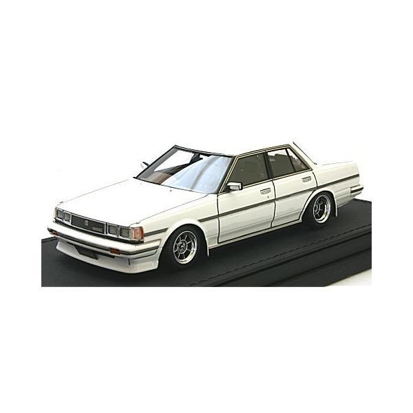 トヨタ クレスタ Super Lucent (GX71) ホワイト Hayashi-Wheel (1/43 イグニションモデルIG0681)|v-toys