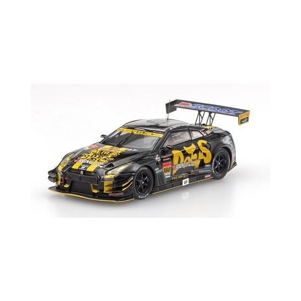 ランナップ Group&DOES GT-R スーパーGT300 2016 No360 (1/43 エブロ45403)|v-toys