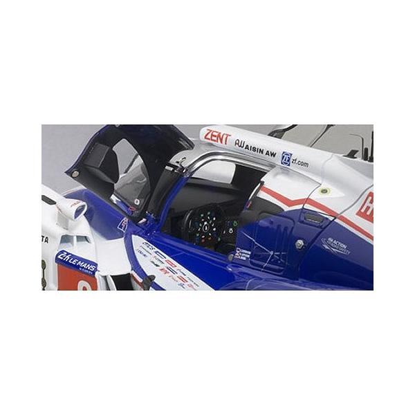 トヨタ TS040 HYBRID ル・マン24時間レース 2014 No8 (A・デビットソン/S・ブエミ/N・ラピエール) (1/18 オートアート81416)|v-toys|02