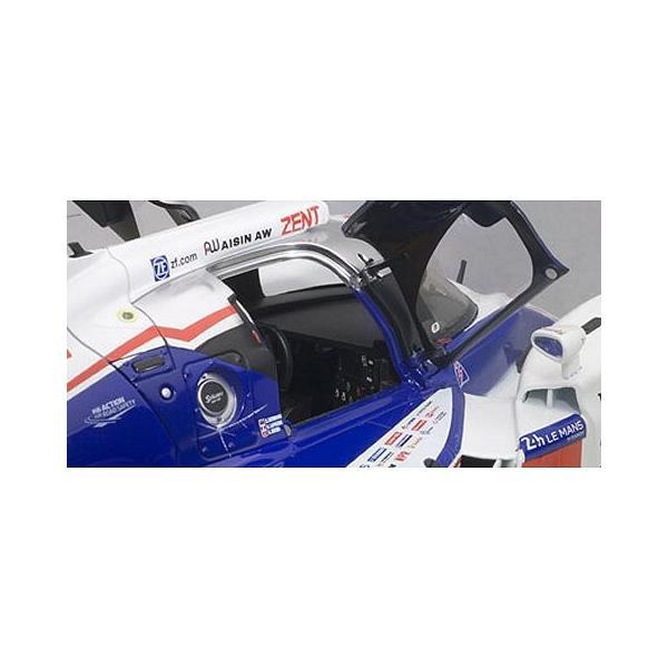 トヨタ TS040 HYBRID ル・マン24時間レース 2014 No8 (A・デビットソン/S・ブエミ/N・ラピエール) (1/18 オートアート81416)|v-toys|03