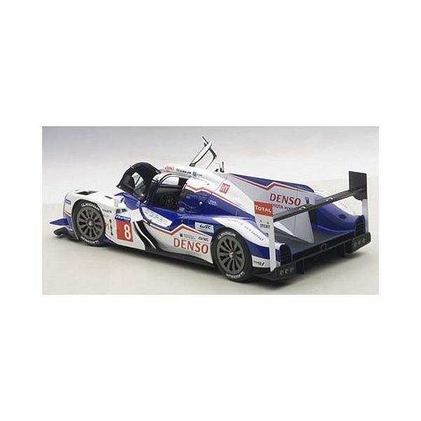 トヨタ TS040 HYBRID ル・マン24時間レース 2014 No8 (A・デビットソン/S・ブエミ/N・ラピエール) (1/18 オートアート81416)|v-toys|04