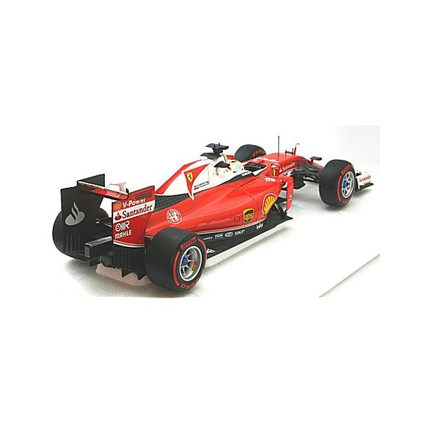 フェラーリ SF16-H スクーデリア フェラーリ S・ベッテル 中国GP 2016 (1/18 BBR PBBR181615)|v-toys|02