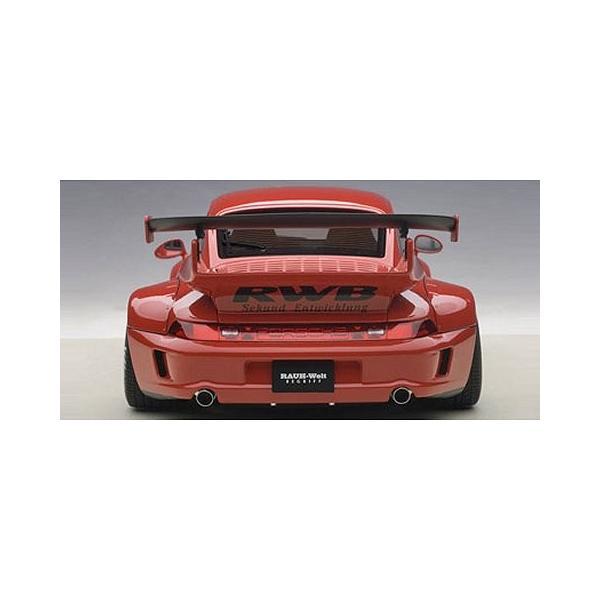RWB 993 レッド/ガンメタ・ホイール (1/18 オートアート78153)|v-toys|04
