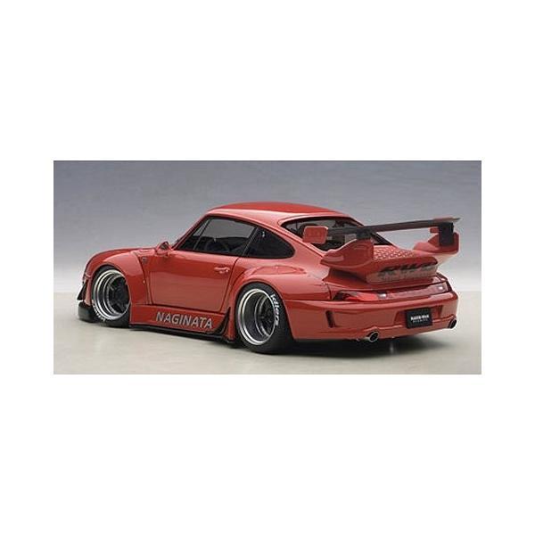RWB 993 レッド/ガンメタ・ホイール (1/18 オートアート78153)|v-toys|05