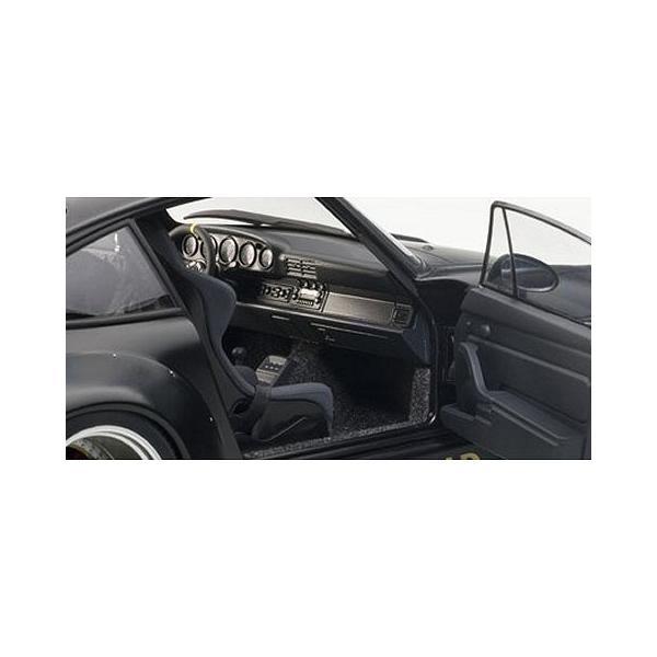 RWB 993 マットブラック/ガンメタ・ホイール (1/18 オートアート78154)|v-toys|03