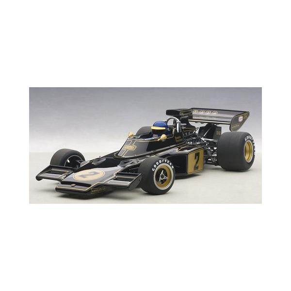 ロータス 72E 1973 No1 ロニー・ピーターソン (ドライバーフィギュア付き) (1/18 オートアート87330)|v-toys