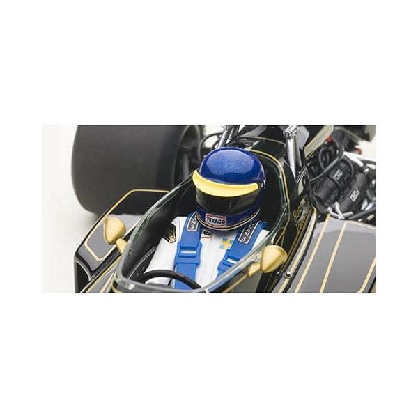 ロータス 72E 1973 No1 ロニー・ピーターソン (ドライバーフィギュア付き) (1/18 オートアート87330)|v-toys|02