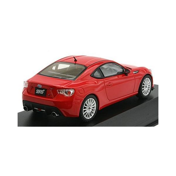 スバル BRZ STI ts 2013 レッド (1/43 Jコレクション JCP74006ST)|v-toys|02