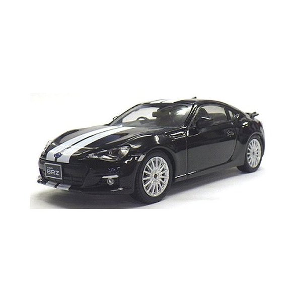 スバル BRZ ブラック&ホワイトライン (1/43 Jコレクション JCP74008BL)|v-toys