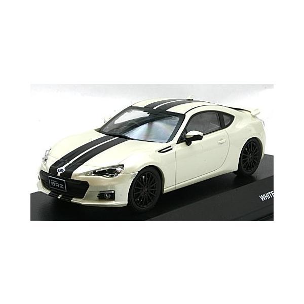 スバル BRZ ホワイト&ブラックライン (1/43 Jコレクション JCP74009WL)|v-toys