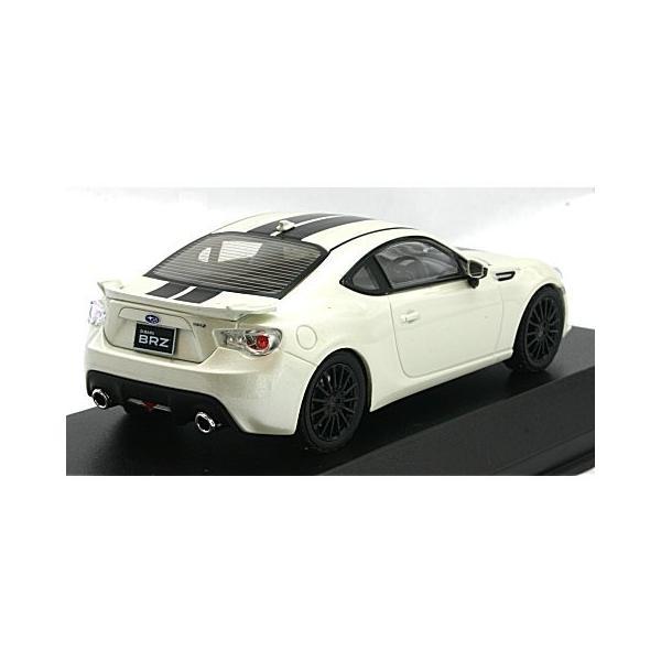 スバル BRZ ホワイト&ブラックライン (1/43 Jコレクション JCP74009WL)|v-toys|02
