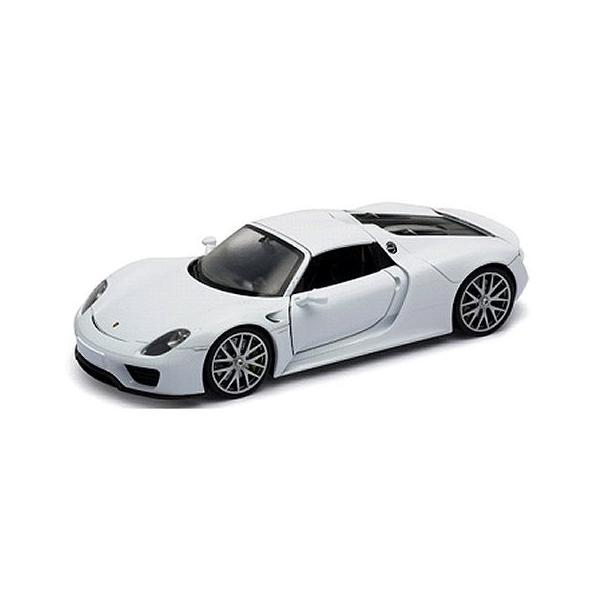 ポルシェ 918 スパイダー ハードトップ ホワイト (1/18 ウエリーWE18051HW) v-toys