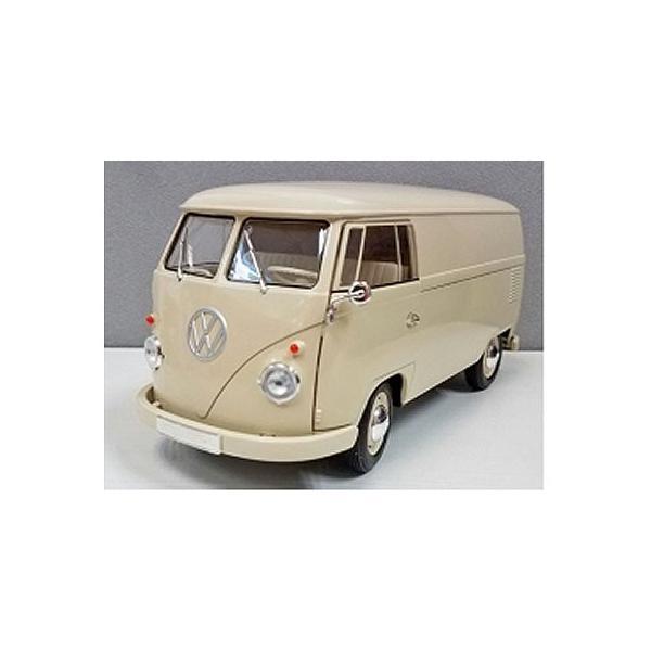 フォルクスワーゲン T1 バス 1963 PANEL VAN クリーム (1/18 ウエリーWE18053CR)|v-toys