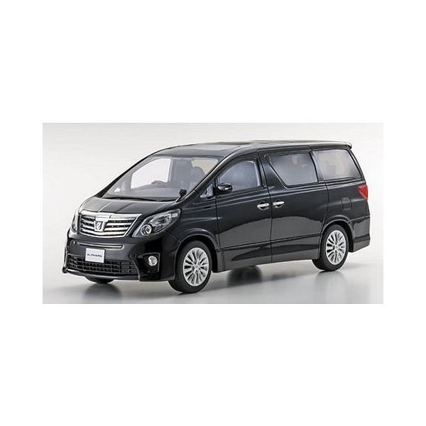 トヨタ アルファード 350S Cパッケージ ブラック (1/18 京商KSR18013BK)|v-toys