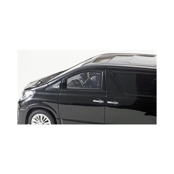 トヨタ アルファード 350S Cパッケージ ブラック (1/18 京商KSR18013BK)|v-toys|02
