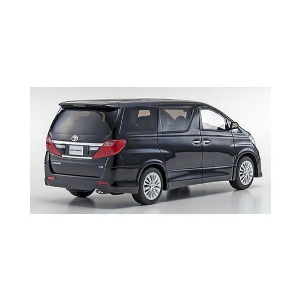 トヨタ アルファード 350S Cパッケージ ブラック (1/18 京商KSR18013BK)|v-toys|04