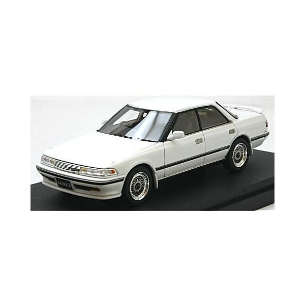 トヨタ マークII ハードトップ GT ツインターボ スポーツVer. スーパーホワイトIV (1/43 マーク43 PM4356SW)|v-toys