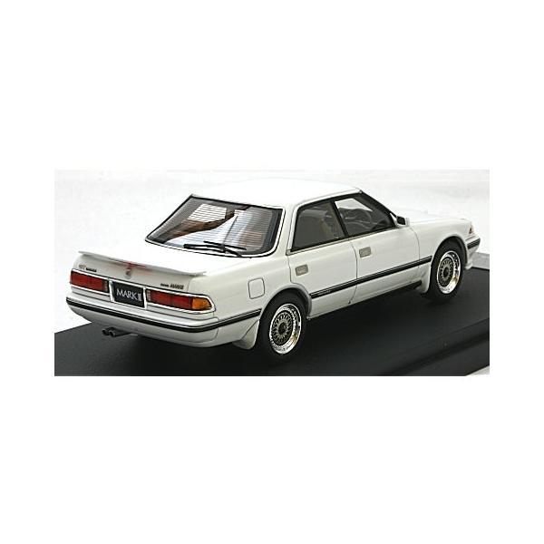 トヨタ マークII ハードトップ GT ツインターボ スポーツVer. スーパーホワイトIV (1/43 マーク43 PM4356SW)|v-toys|02