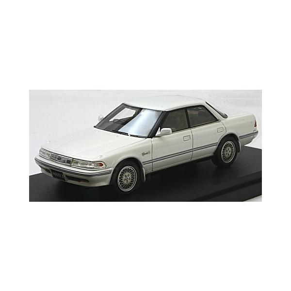 トヨタ マークII ハードトップ 3.0 グランデ G ホワイトパール (1/43 マーク43 PM4356GPW)|v-toys