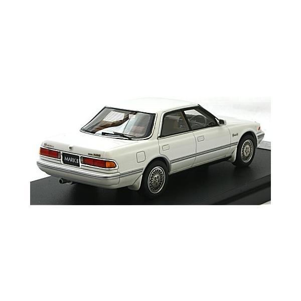 トヨタ マークII ハードトップ 3.0 グランデ G ホワイトパール (1/43 マーク43 PM4356GPW)|v-toys|02