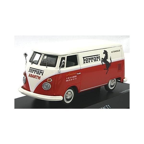 フォルクスワーゲン T1 ボックスバン 「Ferrari」 (1/43 シュコー450369800) v-toys
