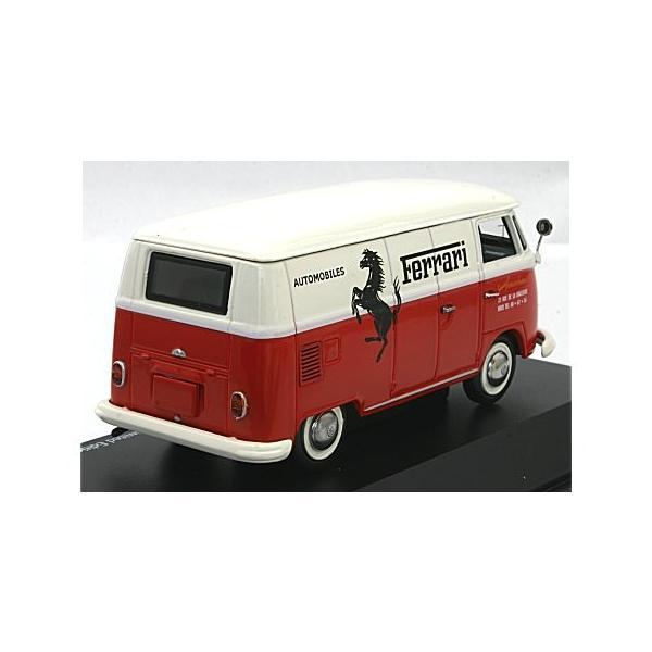 フォルクスワーゲン T1 ボックスバン 「Ferrari」 (1/43 シュコー450369800) v-toys 02