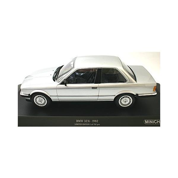BMW 323I 1982 シルバー (1/18 ミニチャンプス155026001)|v-toys
