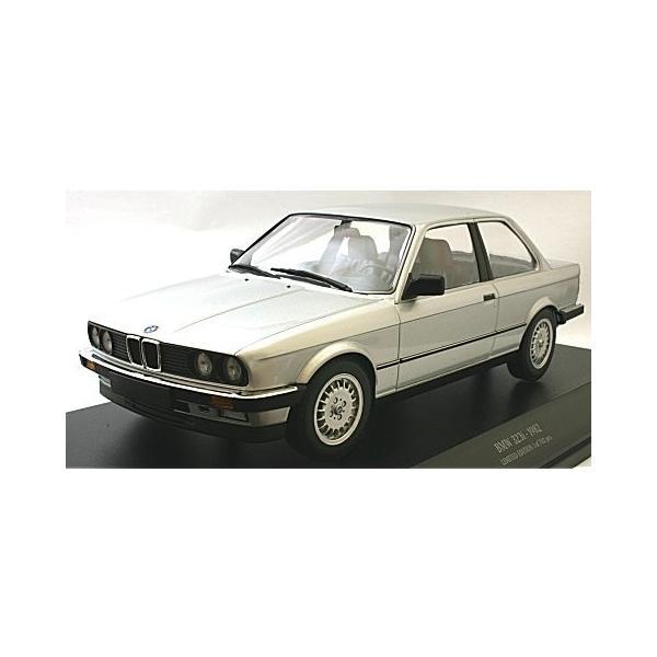 BMW 323I 1982 シルバー (1/18 ミニチャンプス155026001)|v-toys|02
