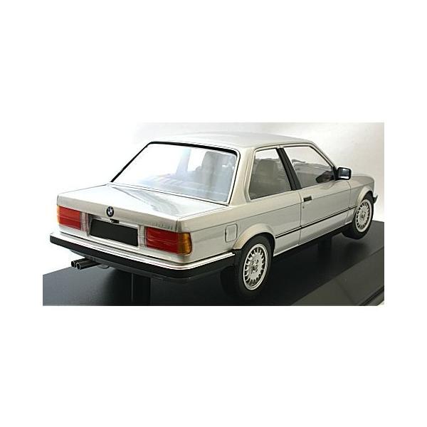 BMW 323I 1982 シルバー (1/18 ミニチャンプス155026001)|v-toys|03
