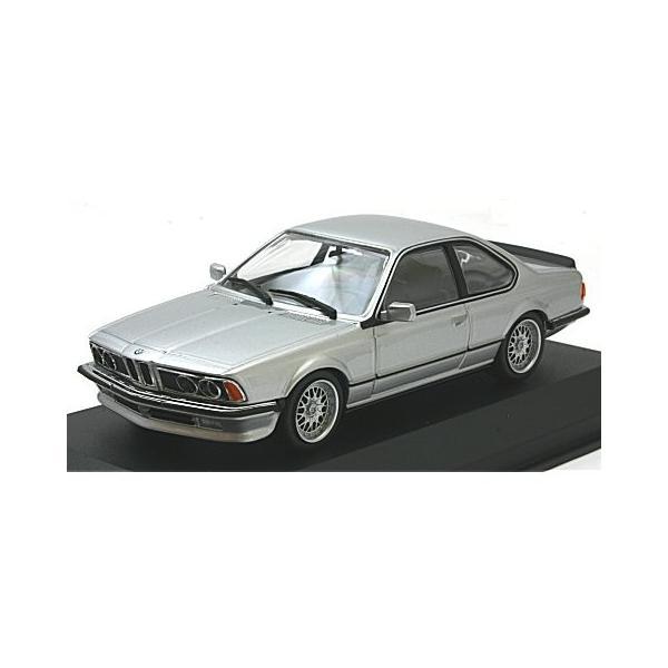 BMW 635 CSI (E24) 1982 シルバーM (1/43 ミニチャンプス940025120)|v-toys