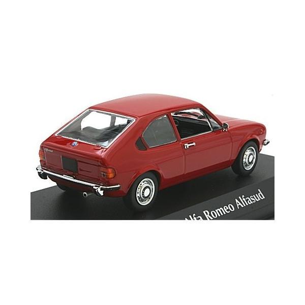 アルファロメオ アルファスッド 1972 レッド (1/43 ミニチャンプス940120100)|v-toys|02