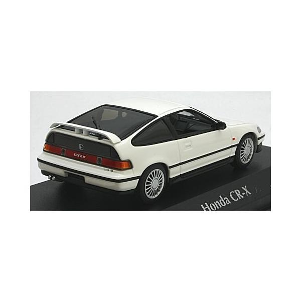 ホンダ CR-X クーペ 1989 ホワイト (1/43 ミニチャンプス940161521) v-toys 02