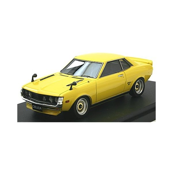 トヨタ セリカ (TA22) メッシュホイール イエロー (1/43 マーク43 PM4351CY) v-toys