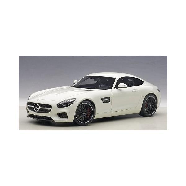 メルセデス AMG GT S ホワイト (1/18 オートアート76311)|v-toys