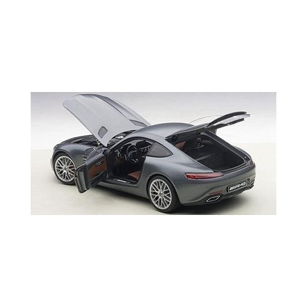 メルセデス AMG GT S マットグレー (1/18 オートアート76312)|v-toys|04