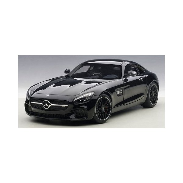 メルセデス AMG GT S ブラック (1/18 オートアート76313)|v-toys