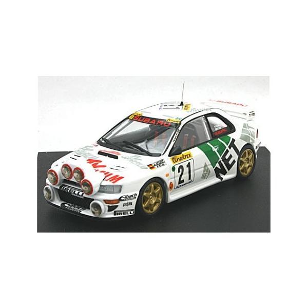 スバル インプレッサ WRC 1998 モンテカルロラリー 8位 A. Kremer/K. Wicha (ナイトライト付) (1/43 トロフュー1106)|v-toys