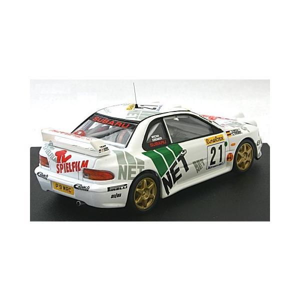 スバル インプレッサ WRC 1998 モンテカルロラリー 8位 A. Kremer/K. Wicha (ナイトライト付) (1/43 トロフュー1106)|v-toys|02