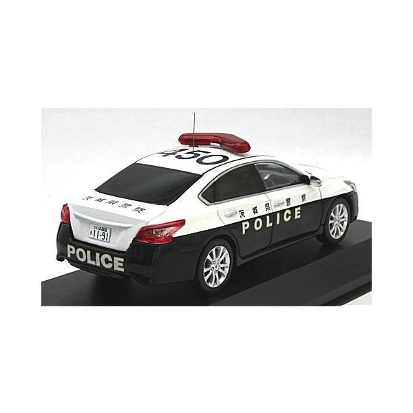 ニッサン ティアナ (L33) 2016 茨城県警察地域部自動車警ら車両 (1/43 レイズH7431606)|v-toys|02