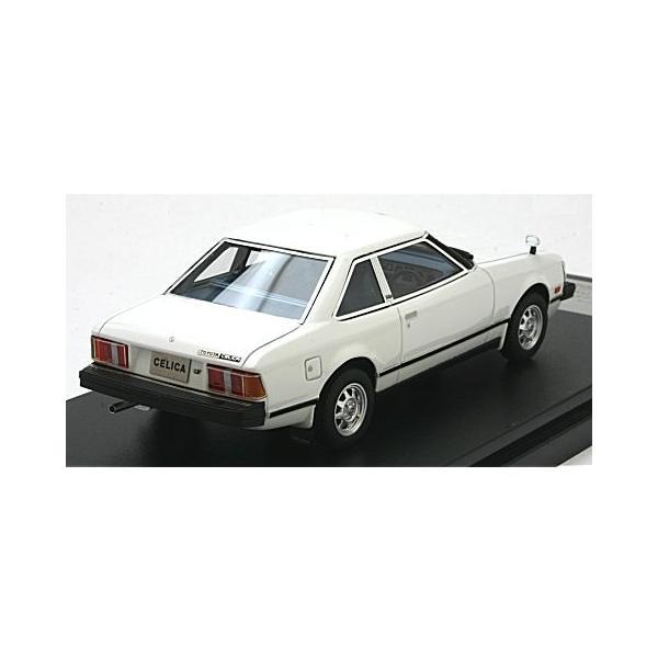 トヨタ セリカ 2000GT クーペ 1979 ピュアーホワイト (1/43 ハイストーリーHS180WH) v-toys 02