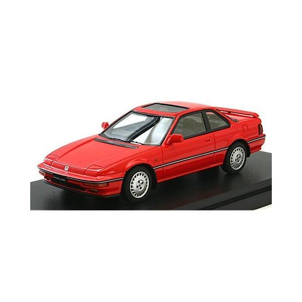 ホンダ プレリュード Si (BA5) 1987 前期型 フェニックスレッド (1/43 マーク43 PM4362R)|v-toys