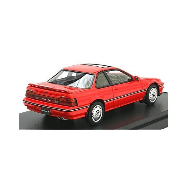 ホンダ プレリュード Si (BA5) 1987 前期型 フェニックスレッド (1/43 マーク43 PM4362R)|v-toys|02