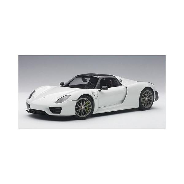 ポルシェ 918 スパイダー バイザッハ・パッケージ ホワイト (1/18 オートアート77926)|v-toys