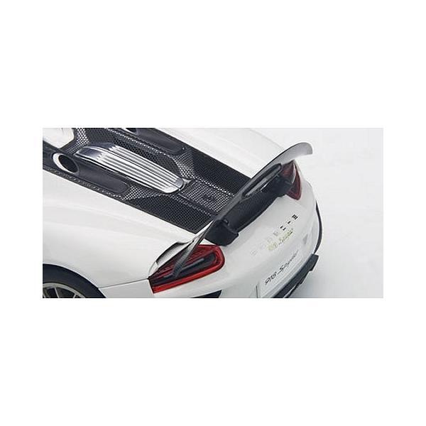 ポルシェ 918 スパイダー バイザッハ・パッケージ ホワイト (1/18 オートアート77926)|v-toys|04