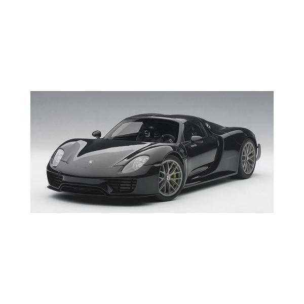 ポルシェ 918 スパイダー バイザッハ・パッケージ ブラックM (1/18 オートアート77928)|v-toys